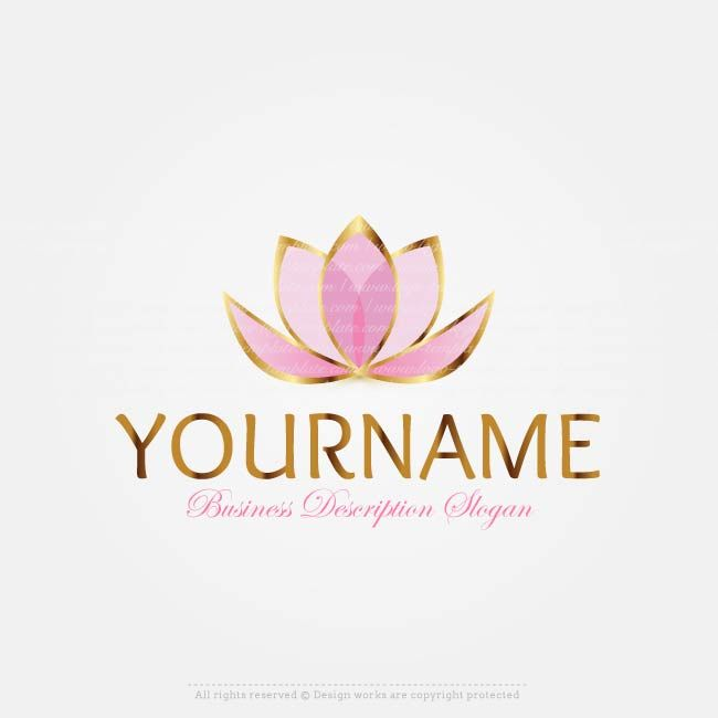 Make lotus flower logo online with our free logo design maker best make lotus flower logo online with our free logo design maker cheaphphosting Image collections
