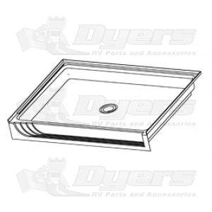 Lippert Components Better Bath 32 X 24 White Center Drain Shower