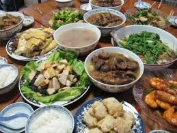 for chinese new year menu set