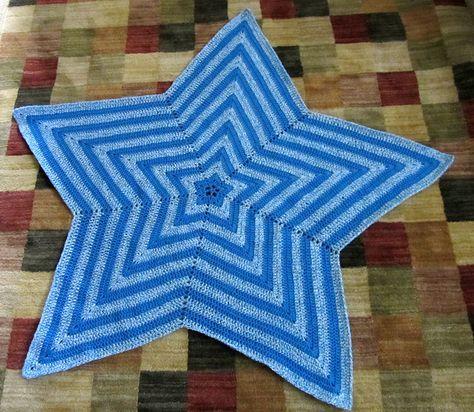 Star Blanket By Bernat Free Pattern Crochet Stars Pinterest