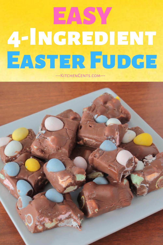 Easy 4 Ingredient Fudge Video Fudge Recipes Fudge Recipes Chocolate Chocolate Treats Easy