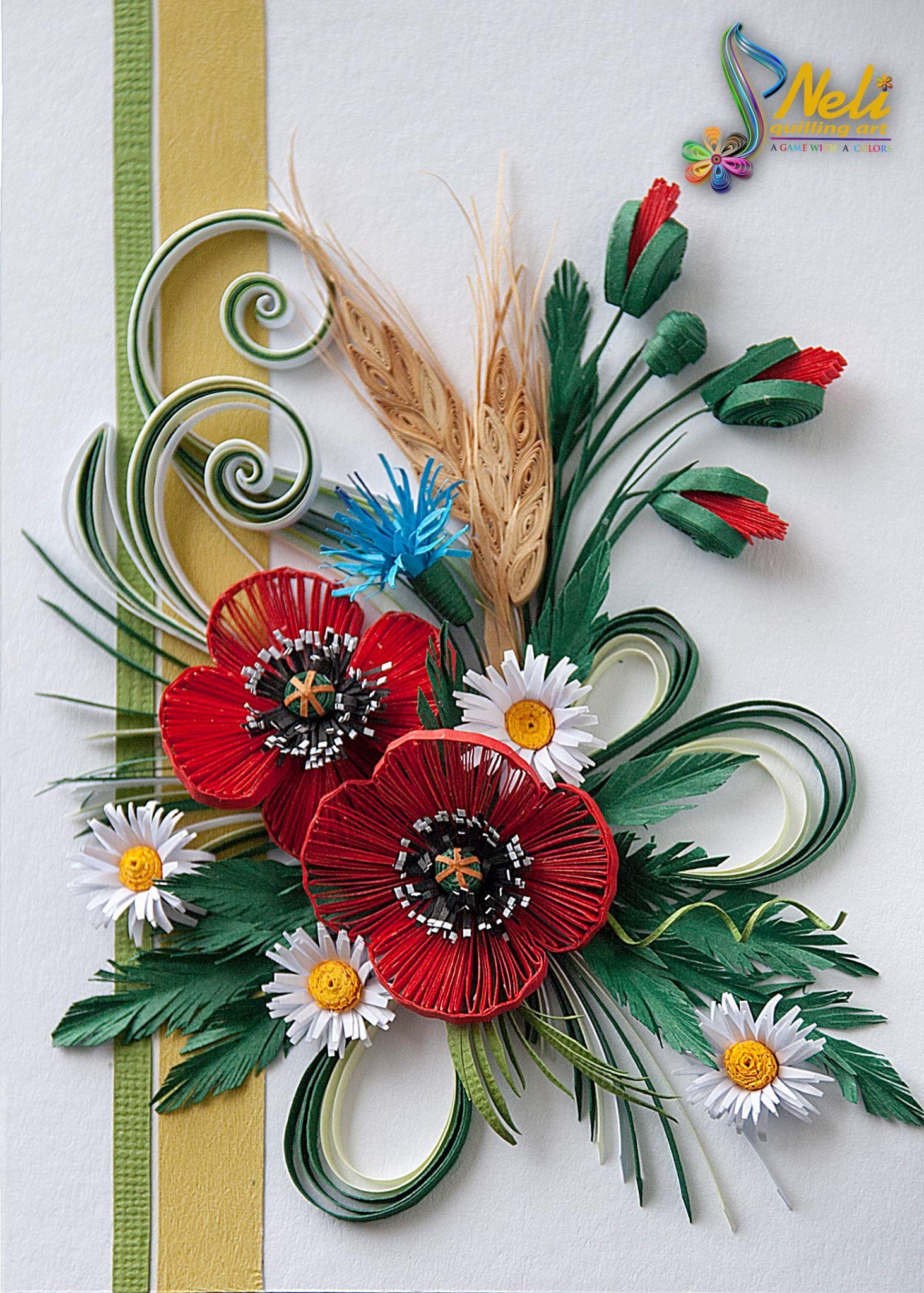 Quilling Neli! | Paper quilling flowers, Neli quilling ...