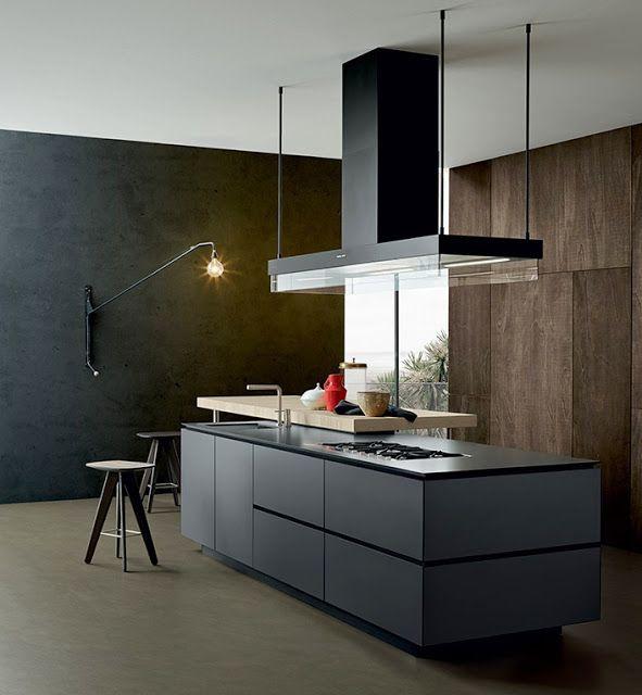 La cocina y los colores neutros | idea for kang Emil teh Atalia ...