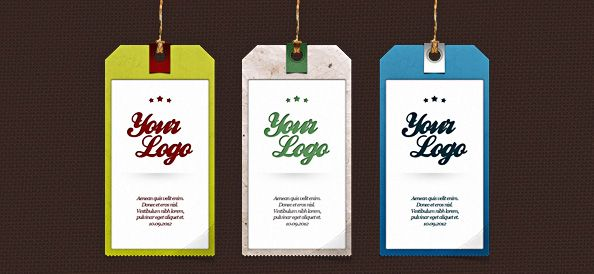 Free label PSD template designed in 3 styles and company behind this ...