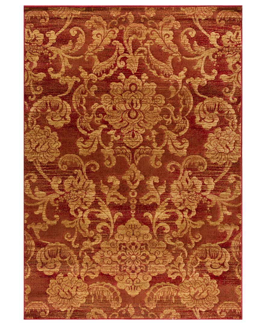 Closeout Kenneth Mink Area Rug Northport Lon 101 Red 2 3 X 7 7
