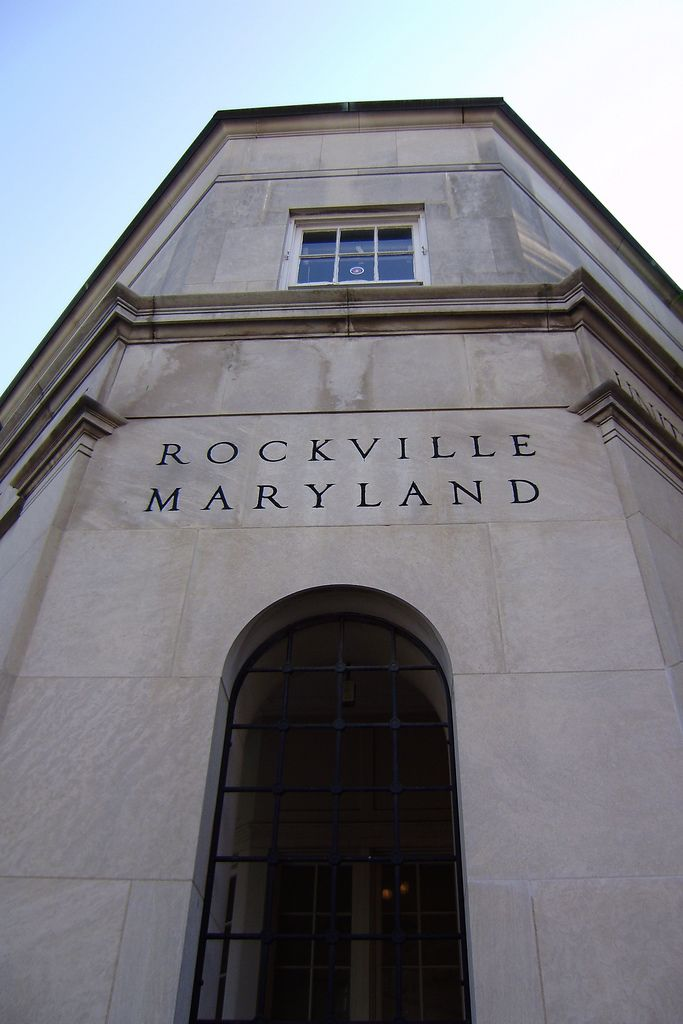 Rockville, MD, post office, built 1938 | Post office, Montgomery ...