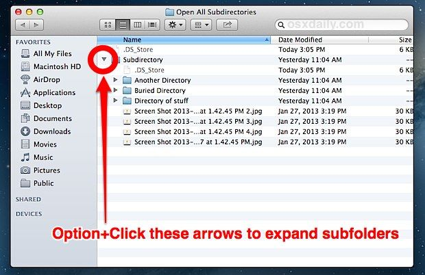 How To List All Files And Subdirectory Contents In A Folder
