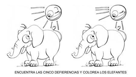Actividades Para Educación Infantil Fichas Busca Las Diferencias Buscar Diferencias Fichas Encuentra Las Diferencias