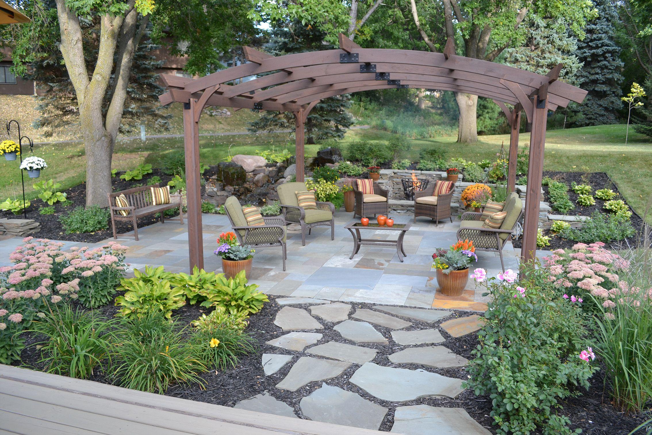 Designed By Bachman S Garden Services Landscape Design 400 x 300