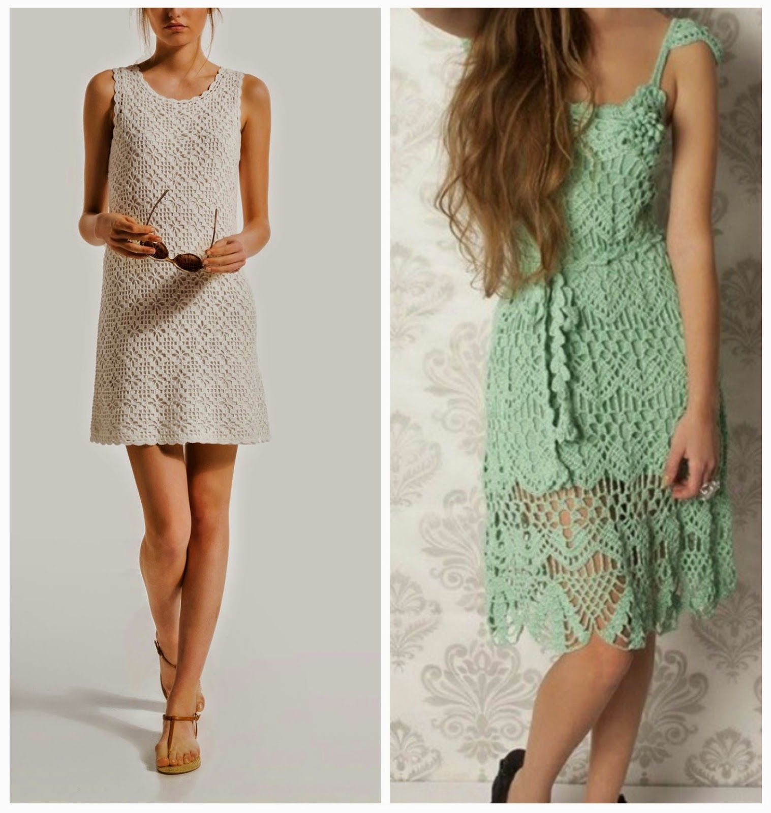 free charts for these dresses | CrochetHolic - HilariaFina ...