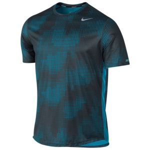 a4384e150 Nike Dri-Fit Sublimated Running T-Shirt - Men's - Stadium Grey/Anthracite