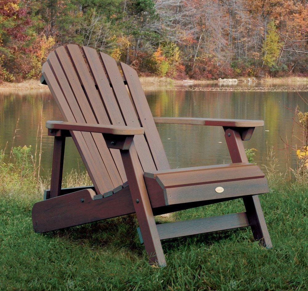 Highwood Adirondack Outside Weathered Acorn Adirondack Chair