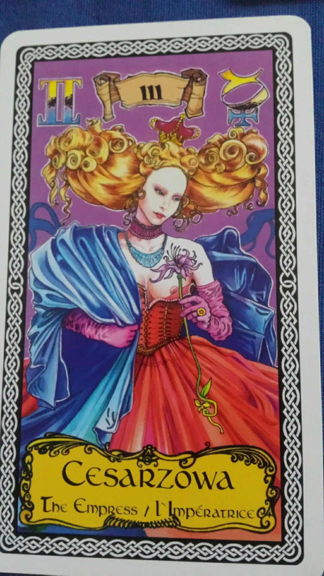 Tarot From Poland Anna Ligero Tarot Pinterest Tarot Tarot