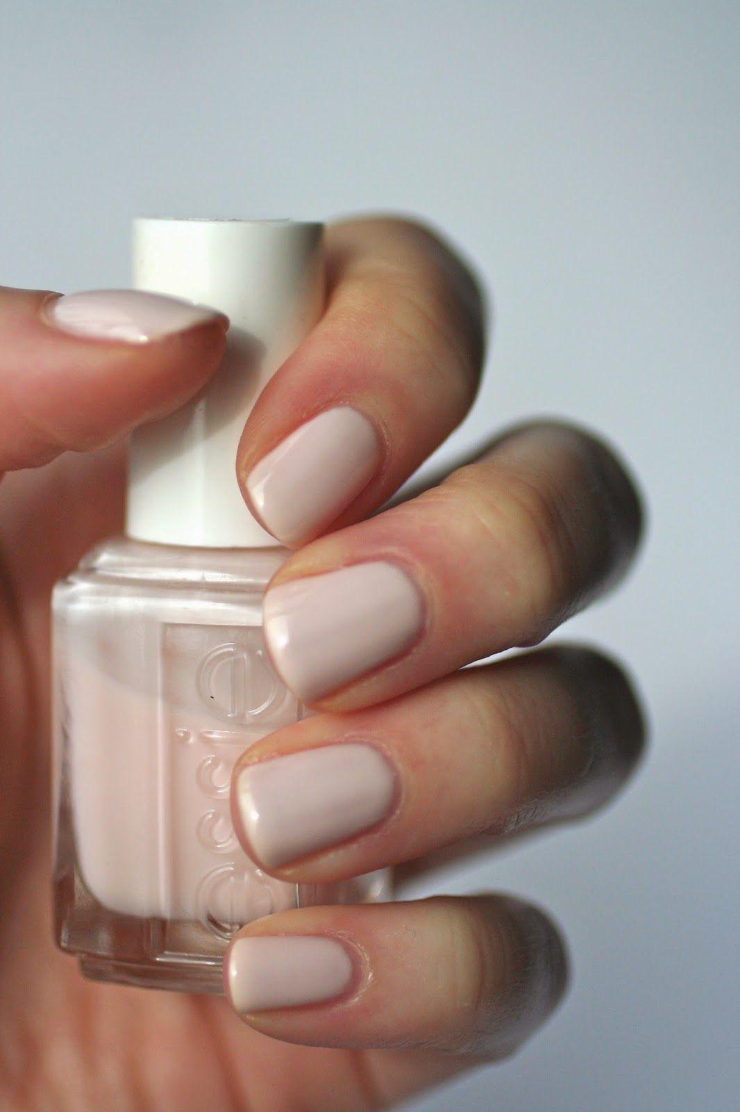 Essie Pale Pink Comparison Ballet Slippers Minimalistic Romper Room Fiji Pale Pink Nails Essie Nail Pink Nails