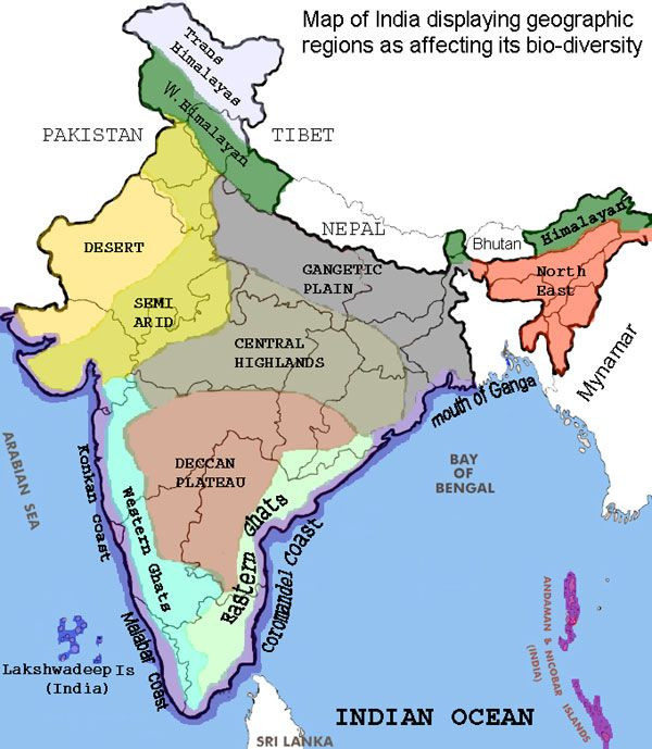 Map Of Uk Mountains And Rivers.Geographic Regions Of India India India Map Indian River Map