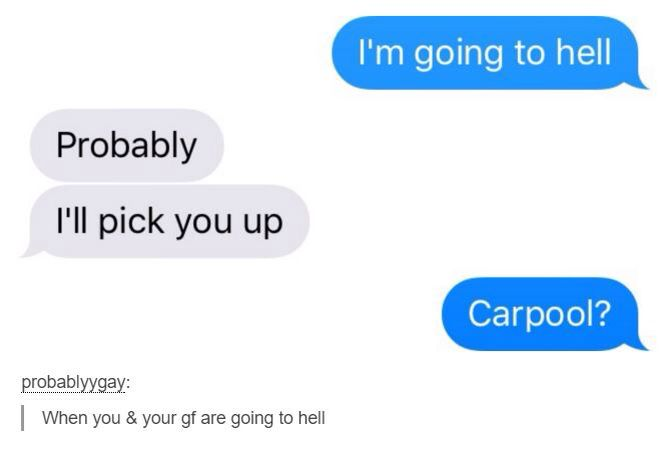 Funny text messages from hell