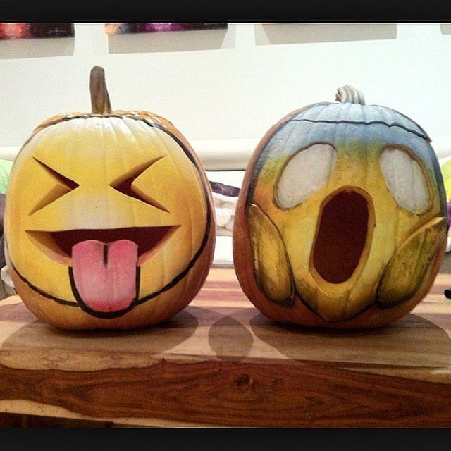 25 Incredibly Creative Pumpkin Ideas Emoji Creative