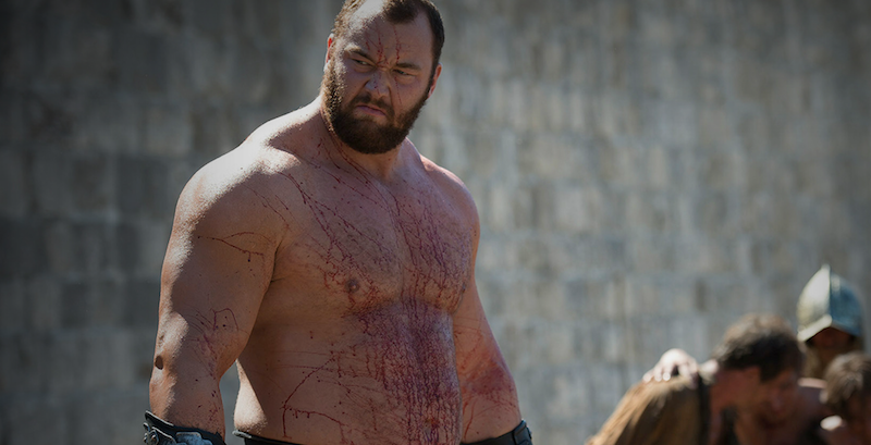 The Mountain From 'Game Of Thrones' Just Revealed His Diet And It's Insane