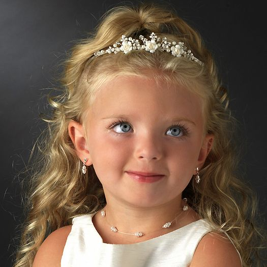 Hairstyles For Flower Girls With Headbands