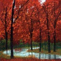 Framed Autumn Stream