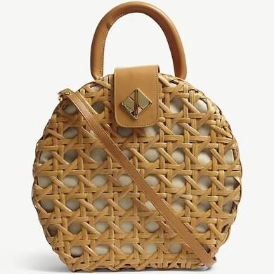 Aranaz Charlie Round Wicker Shoulder Bag Sumki Pinterest Bag