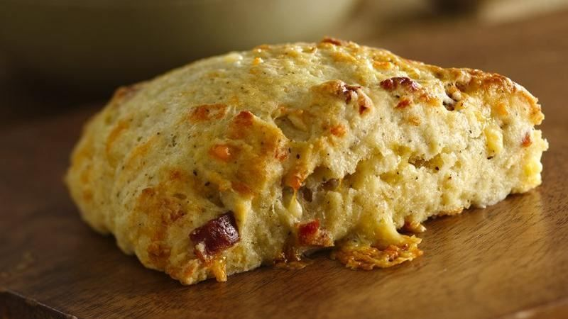 Twice Peppered Bacon And Buttermilk Scones With Gouda Recipe Homemade Scones Recipes Scone Recipe