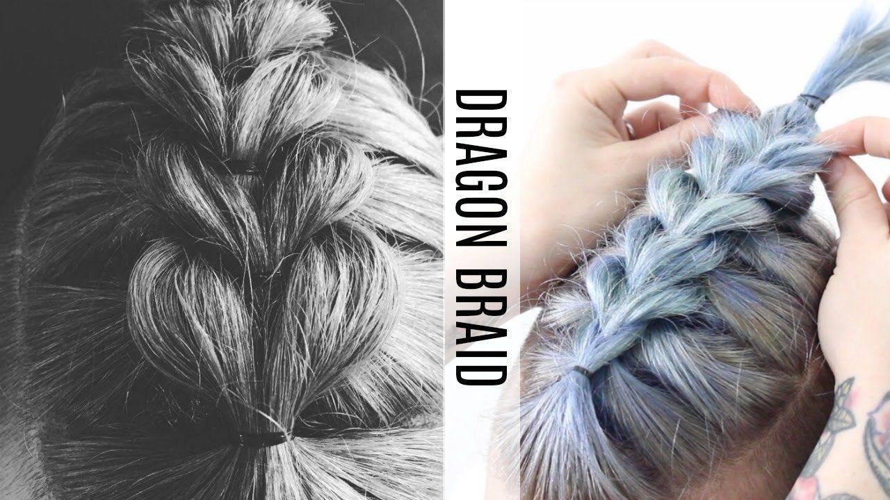 Dragon Hair Braid Tutorial Youtube Braided Hairstyles Tutorials Braided Hairstyles Braids For Short Hair