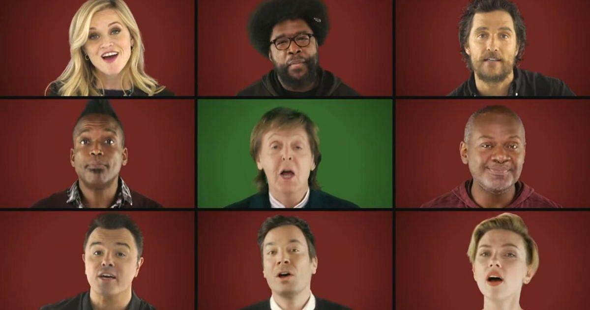 Jimmy Fallon And Paul McCartney Get Some StarStudded Help