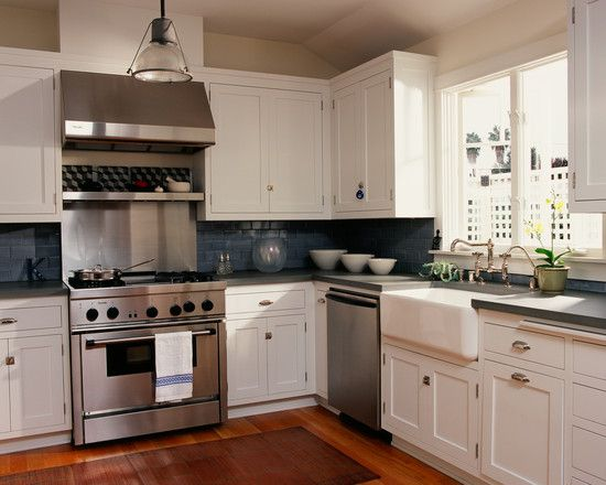 Blue Tile Kitchen Design, Pictures, Remodel, Decor and Ideas - page 5