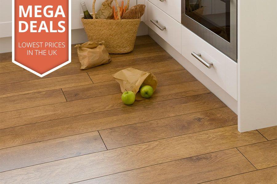 Mega Deal 10mm Laminate Flooring Harvest Oak Flooring Pinterest