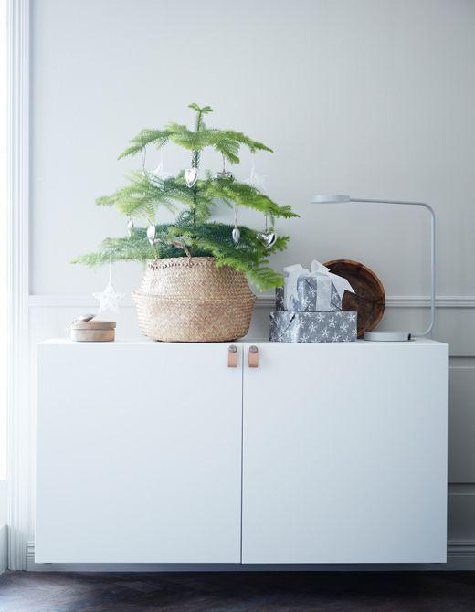 FLÅDIS Faltkorb - Seegras - IKEA #ikeadeutschlandweihnachten