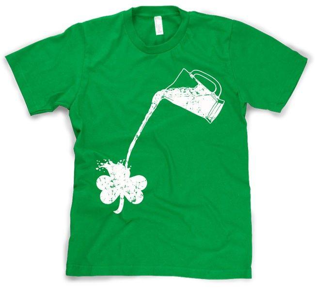 St Patricks Day Shirts Funny Irish Beer Tuxedo Suspenders Shamrock St Pattys Tee
