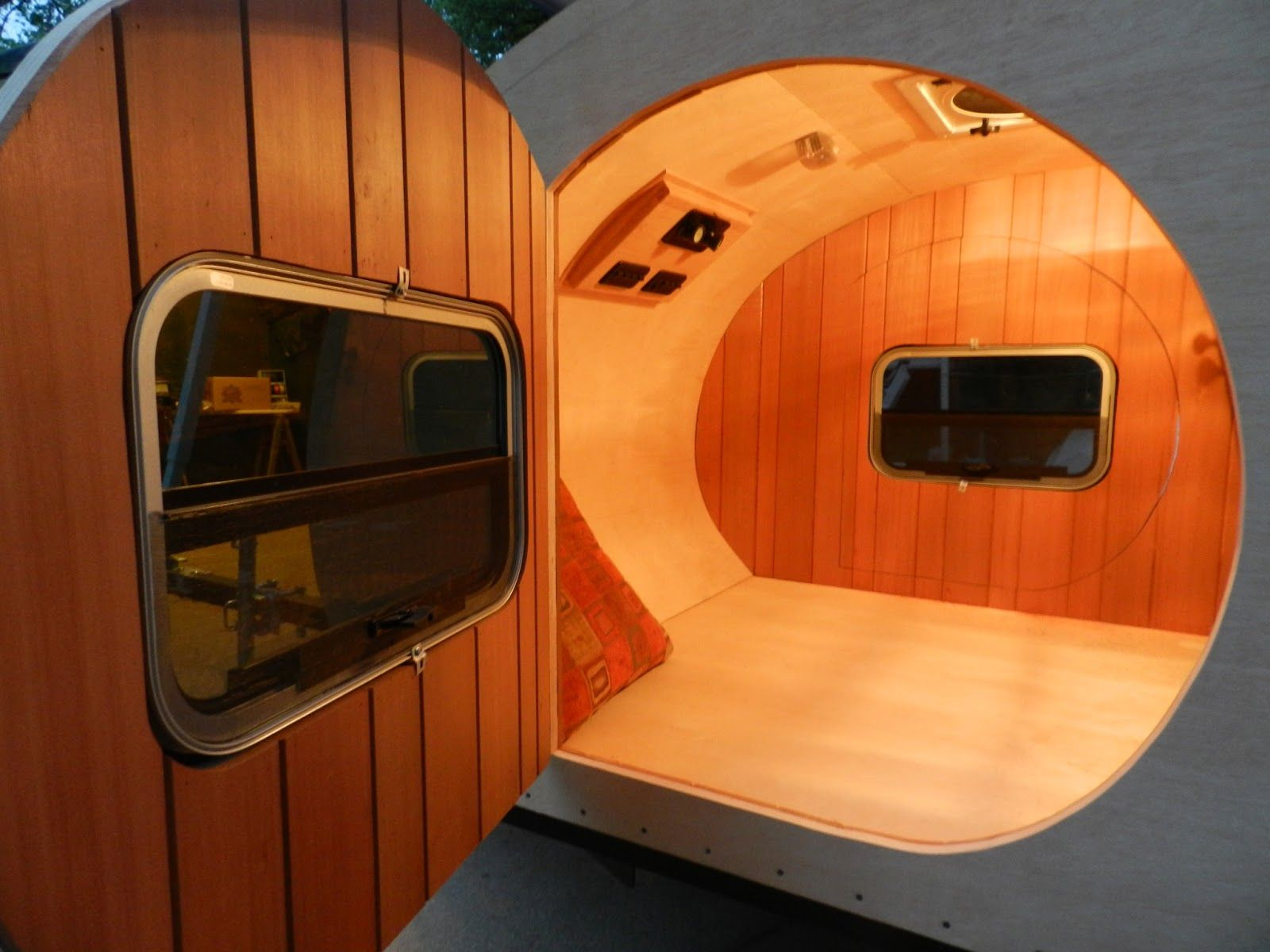 Figuring It Out As I Go Teardrop Trailer Interior Trailer