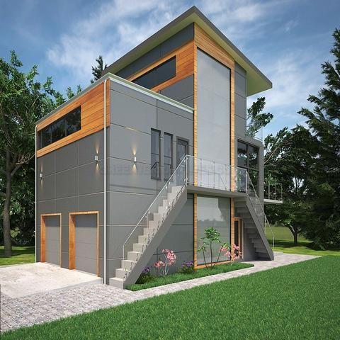 Prefab Home Kit Home 3br 2 5ba 2car Garage 2053sf The Aquarius