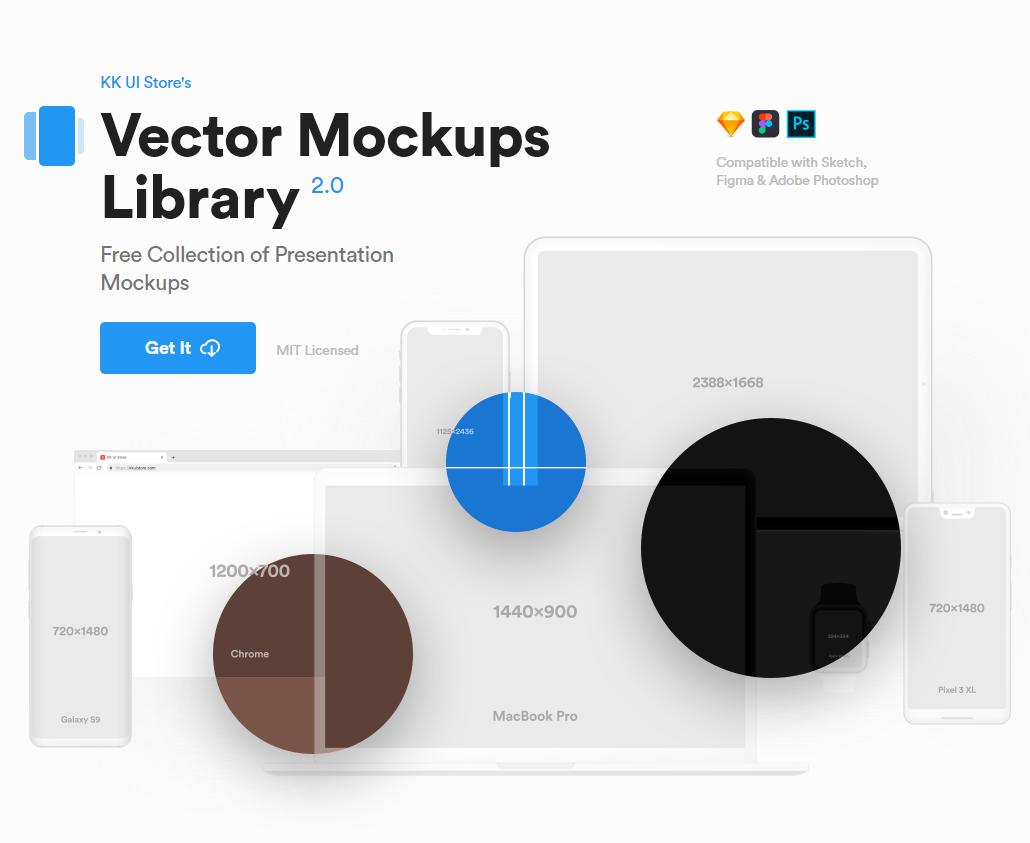 Free Vector Mockups Library | Freebies | Mobile mockup