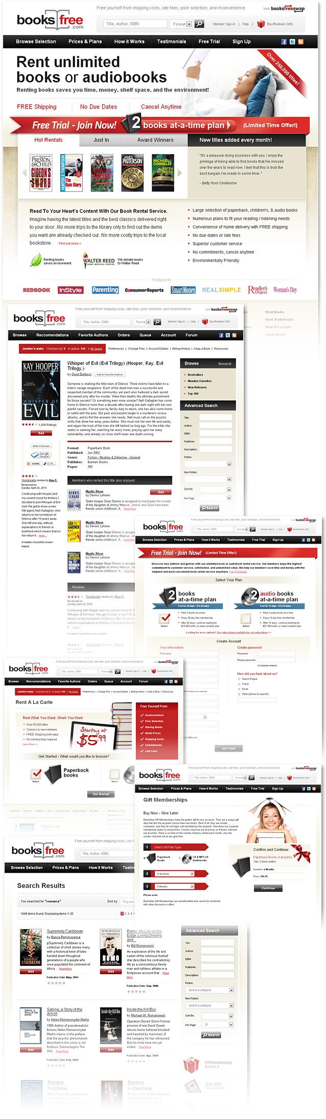 Bookstore Website Design Corporate Website Design Web Design Website Design