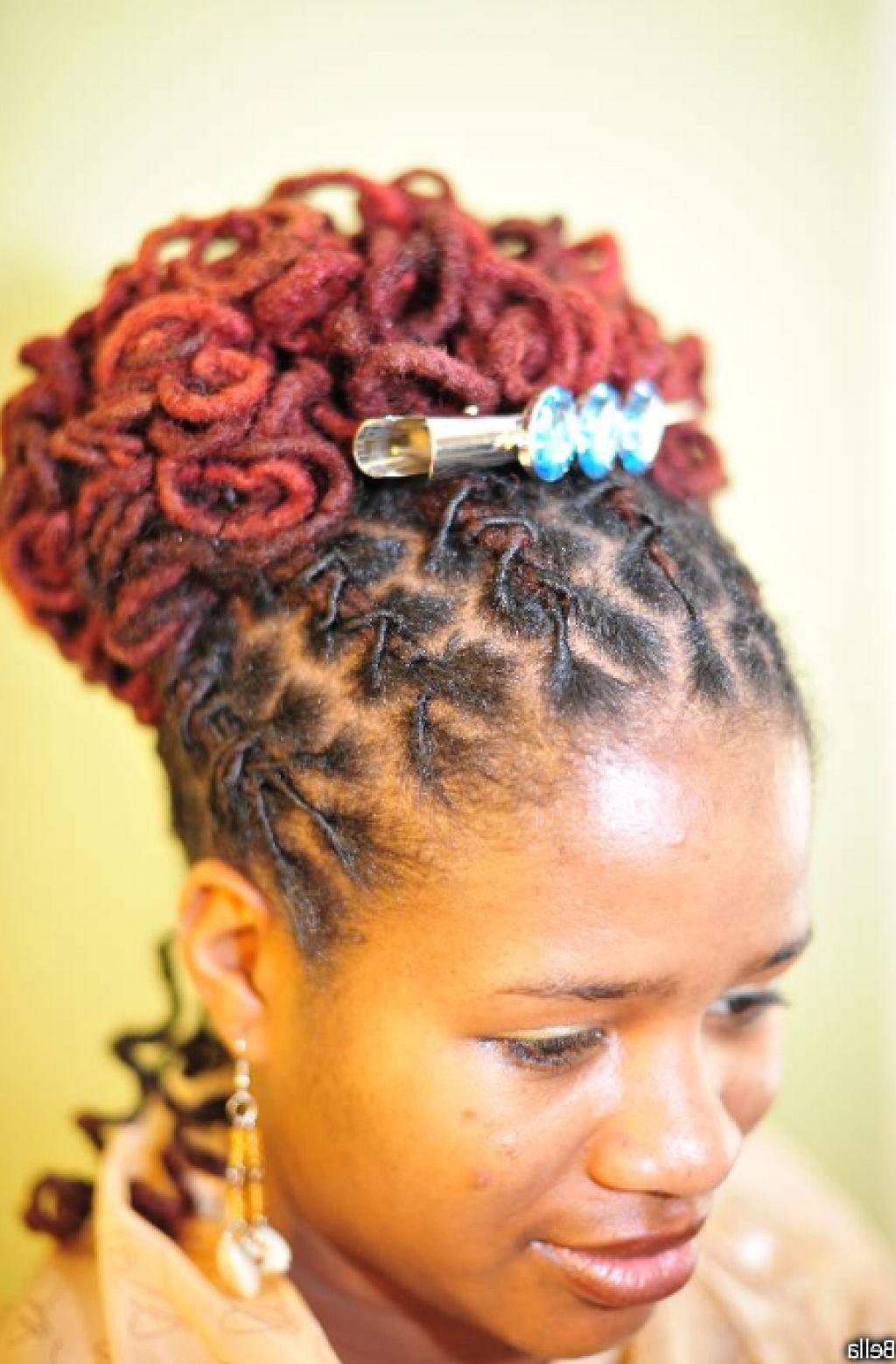 Tremendous Dreadlocks Hairstyles For Brides And Wedding Hairstyles On Pinterest Short Hairstyles Gunalazisus