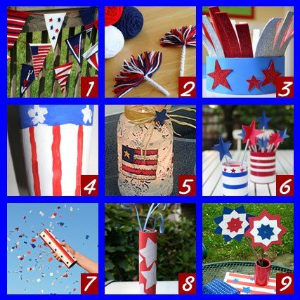 Top Kids Crafts For Fourth Of July Pinterest Craft