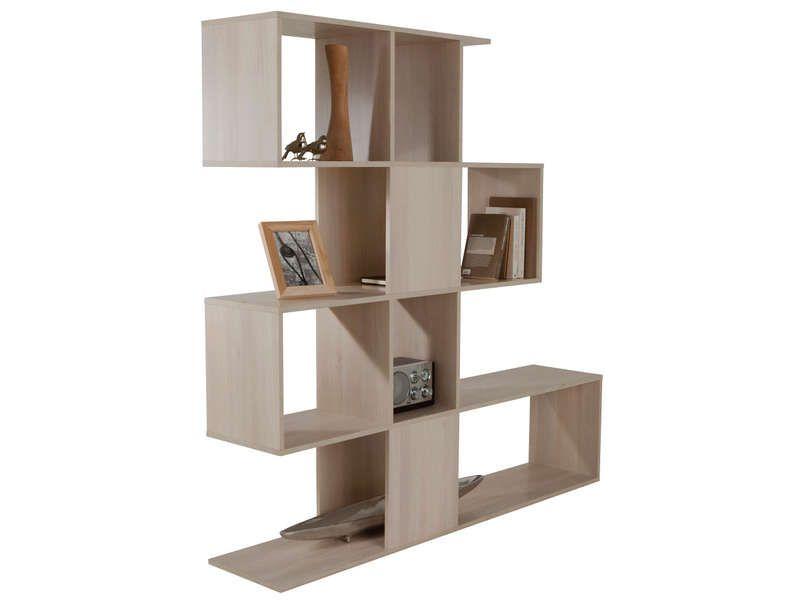 s paration zig zag vente de biblioth que et vitrine conforama idees separation pinterest. Black Bedroom Furniture Sets. Home Design Ideas