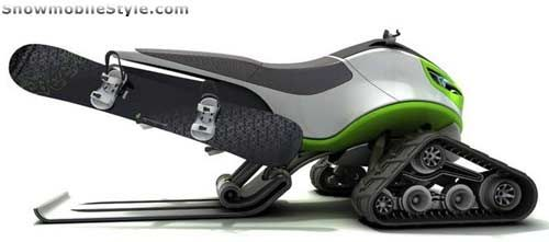 Snowmobile Design Concept | Cars - Snow | Pinterest | Design ...