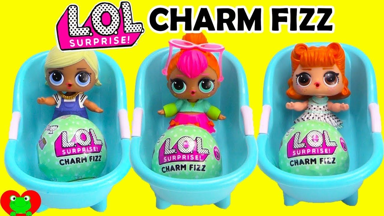 Lol Surprise Doll Charm Fizz Bath Bombs Lol Dolls Lol Dolls
