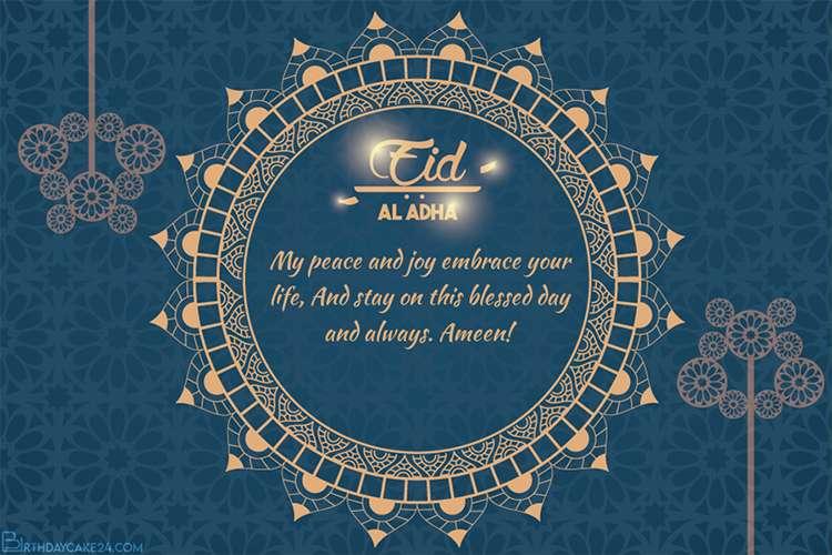 pin on islamic eid ul adha mubarak greeting cards 2020