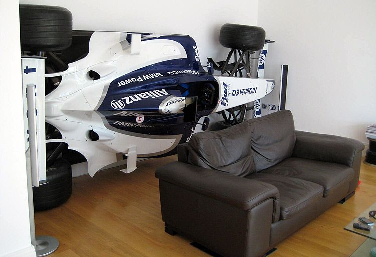 F1 mounted car for my game room  | Future Home | Ford