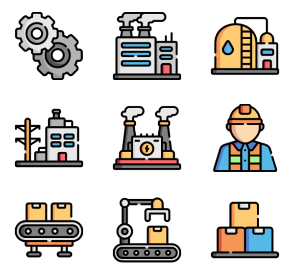 33 Factory Icon Png