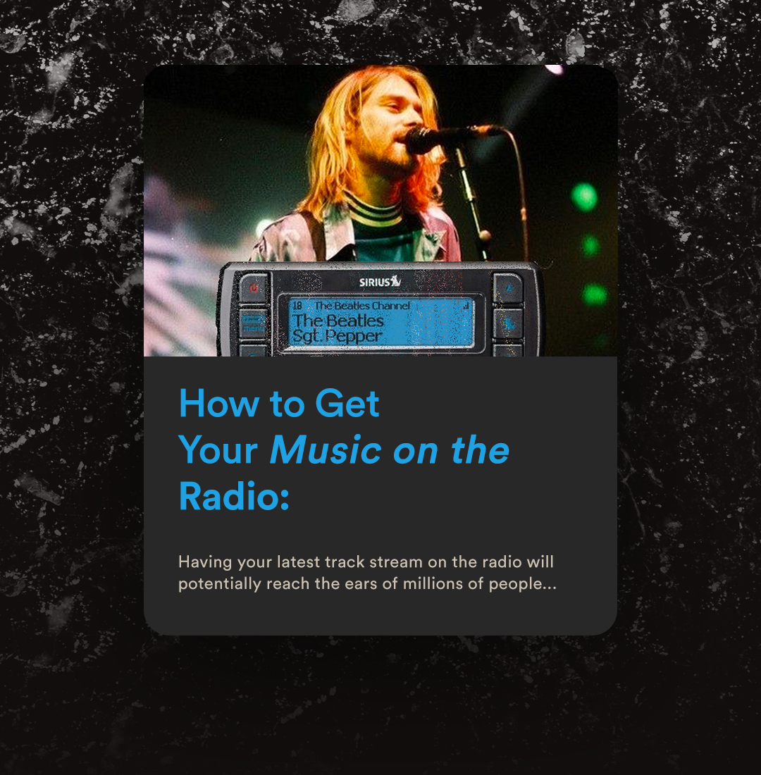 How To Get Your Song On A Radio Station Radio Music Promotion Songs
