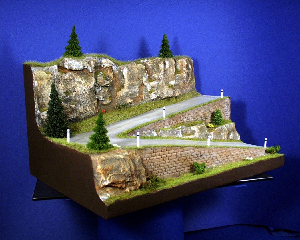 diorama grundplatte 35 passstra e 42 x 32 cm 1 87. Black Bedroom Furniture Sets. Home Design Ideas