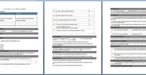 Download Free Labor Contract Template  Collection Of Everyday