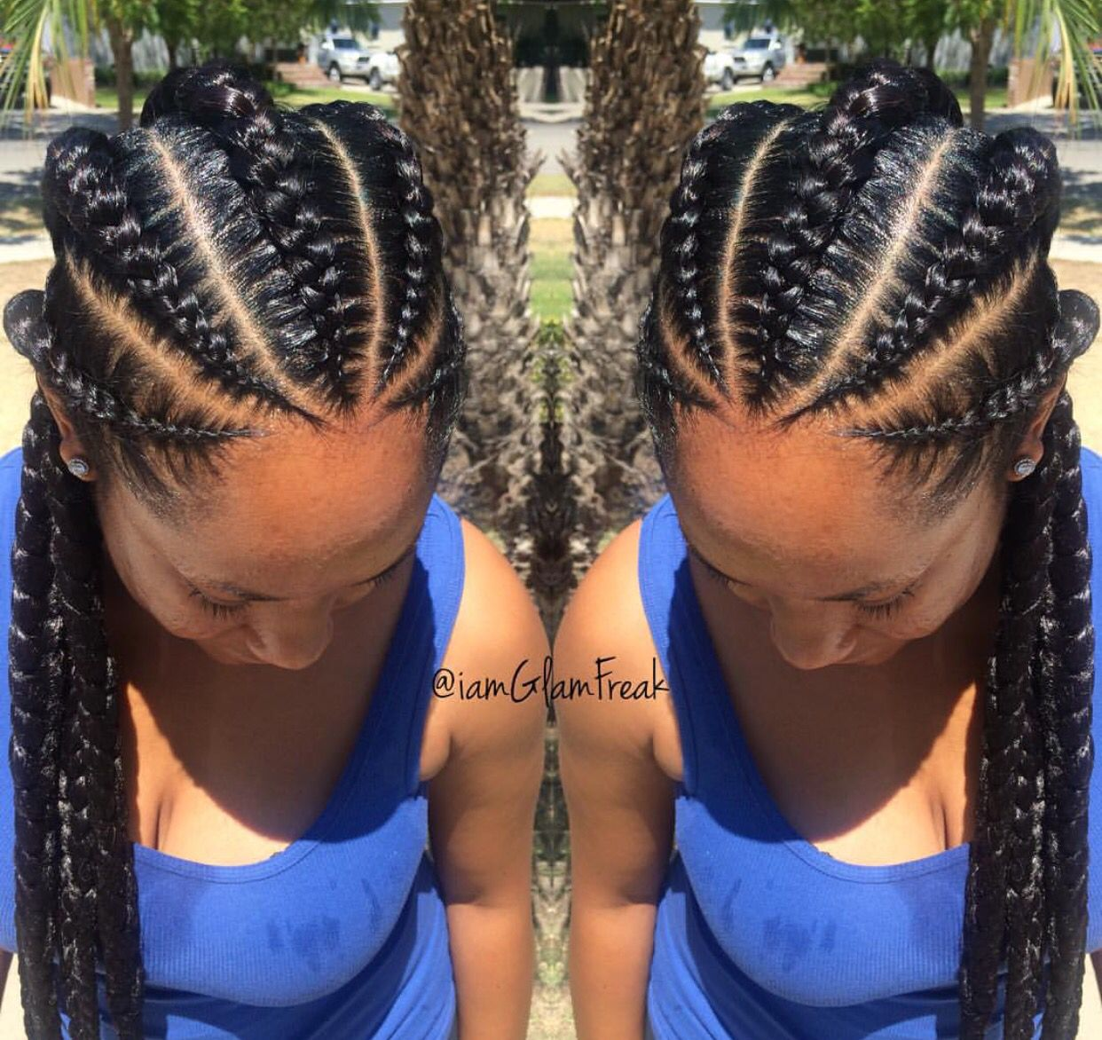 pinterest : @naomiawelexo ♚ | tresses | hair styles