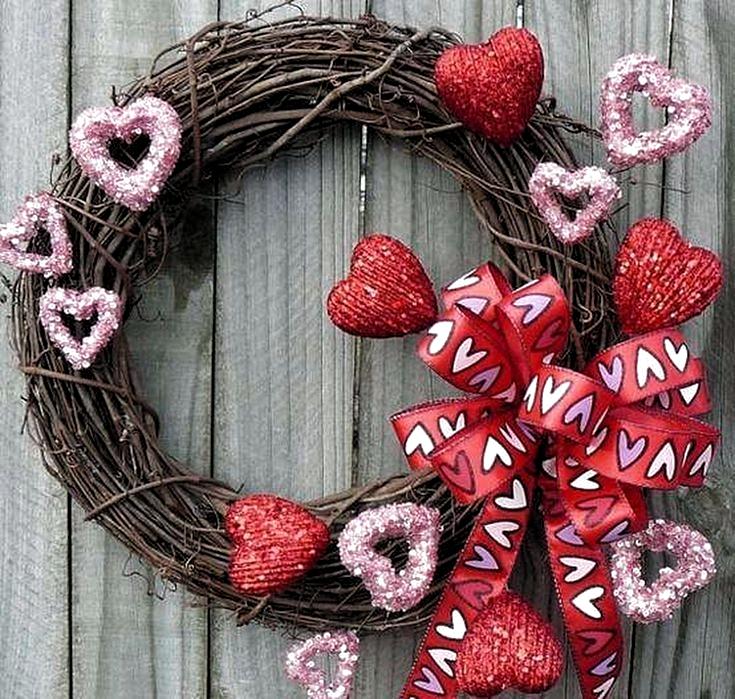 Photo of Easter # valentine # wreath felt valentine wreath, valentine wreaths for front do …