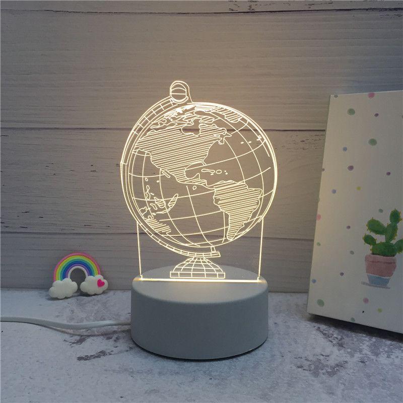 Sololandor 3d Led Lampe Im Spargut Shop In 2020 Led Lampe Nachtleuchte Led